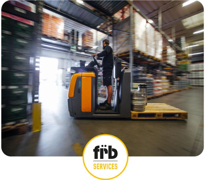 un pallet per introdurre i FRB services