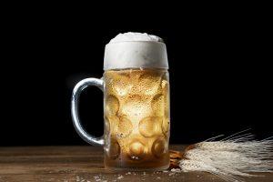 Boccale di birra per pubblicizzare il nostro corso di spillatura